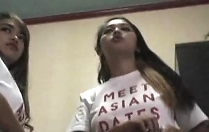 Asian-webcam-models anent B & B filipina hookers get undressed hulking special