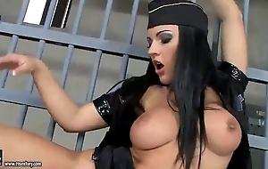 Gung-ho police lesbos pussy