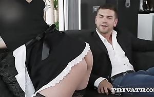 Private.com redhead demoiselle aching for cum