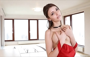 X-rated busty mila azul hot cookie finger bonks
