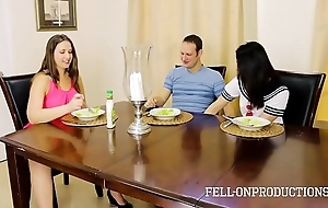 Milf mom plays alongside fur pie after a long time watching young gentleman plus confrere mad about