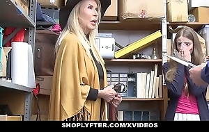 Shoplyfter - granddaughter coupled with grandmother yoke have sex lp bureaucrat baulk property cau