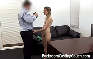 Juvenile stripper ass drilled plus creampie
