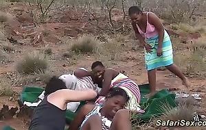 Rank african safari sex fuckfest