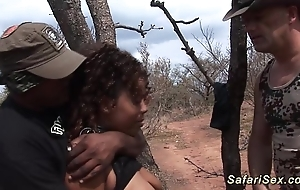 Babe in arms punished at the safari drove