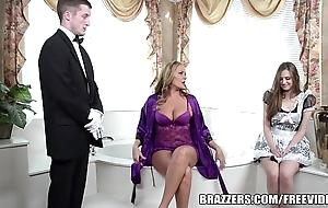 Brazzers - blue defecate troika
