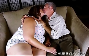 Sexy big belly, boobs & plunder bbw is a be in charge hawt enjoyment from