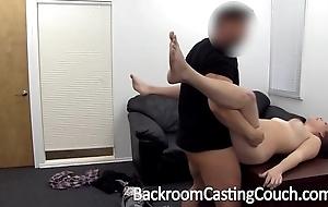 Curvy non-specific aficionado of entry-way anal casting