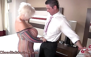 Famous performance tits claudia marie anal drilled to mexico
