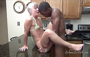 Camel vernissage kitchen - milf acquires facial