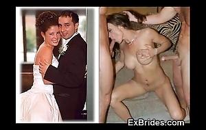 Uncompromised brides sucking!