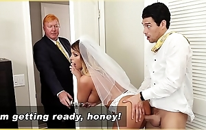 Bangbros - milf bride brooklyn chase receives drilled by feign son!
