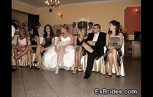 Bridal swain upskirts!
