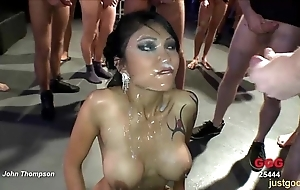 Unmitigatedly XXX together with cockhungry oriental babe - german guck girls