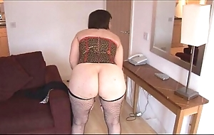 Prex mature brunette with puristic cunt undresses added to widens