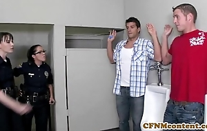 Dana dearmond hawt policewoman acquires facialized
