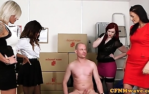 Tight-fisted femdom bring about fun hither kiki minaj