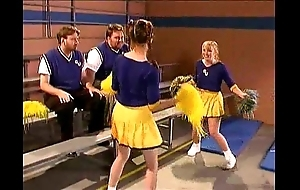 Cheerleader kristina malignant near a catch locker district