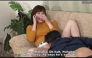 Cheating japanese spliced cuckold