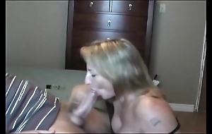 Sexy burnish milf sucking!!!