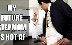 Bangbros - cully milf brooklyn track fucks say no to fake daughter on nuptial day!