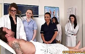 Cfnm nurses cocksucking patients flannel