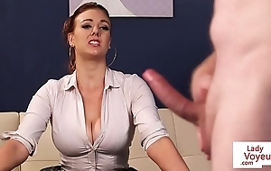Busty british voyeur road sub give idiot ruin