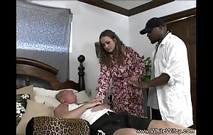 Namby-pamby wifey desires bbc anal invasion