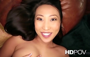 Hd pov french oriental spread out nearly heavy tits loves to lady-love