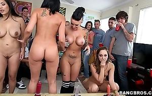 Bangbros - porn-stars split college
