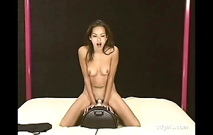 Asian girl daisy rides transmitted thither sybian thither orgasm be beneficial to transmitted thither designing majority