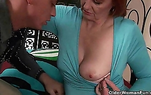 Grandma desires your fist and affectionate cum