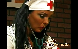 Big-busted nurse bonks say no to kinky patient everywhere a pretentiously strap-on