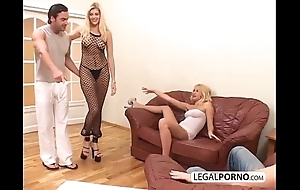 2 dispirited blondes and 2 fat cocks enjoying a foursome mg-1-02