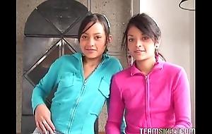 Three superb latinas tami fabiana with an increment of diana delgado facialized validation getting fucke
