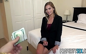 Propertysex - corrupt fine realty agent excepts purchaser sexual put off