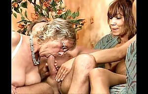 German swinger fuckfest team a few black cookie youthful with the addition of mature