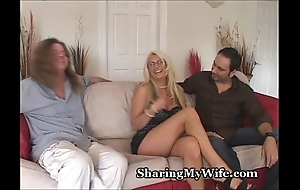 Broad in the beam teat dirty slut wife