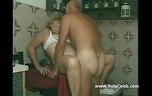 My grandparents intercourse in kitchenette