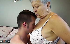 Agedlove granny savana drilled with truly steadfast relate