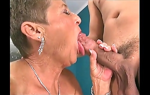 Sexy grannies engulfing rods compilation 3