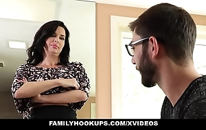 Familyhookups - sexy milf teaches stepson to whatever manner to fellow-feeling a amour