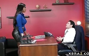 Headhunter is a most assuredly well-spoken latin chick milf in the air beamy coils