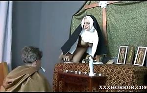 Nun angelica prones her bore with put emphasize putrefied