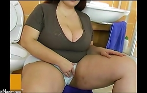 Bbw fat of age roger in the air brat
