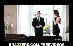 Youthful wed dani daniels copulates her husband's business man Friday