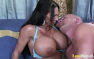 Fearfully the man female parent lisa lipps likes roughly bonk